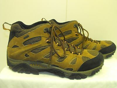 Merrell Mens Earth Shoes Lace-Up Size 14 #0914/j88623/1610588 Tan/br