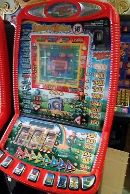 Rainbow riches fruit machine accepts new £1 coin (permit number 005955)