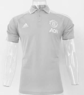 manchester united Polo gray Soccer