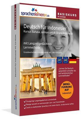 Sprachenlernen24.de Deutsch für Indonesier Basis PC CD-ROM