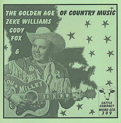 VARIOUS ARTISTS-The Golden Age Of Country Music = CCD 309 (Hillbilly 1930s&50s)