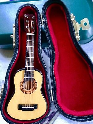 Collectors Model Classical Guitar In Fitted Case.