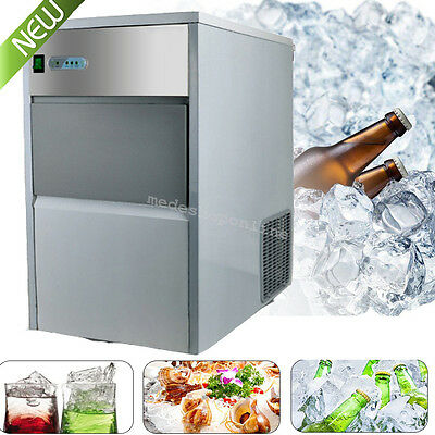 USA Commercial Ice Maker Portable Ice Cube Block Machine Restaurant Bar Easy CE