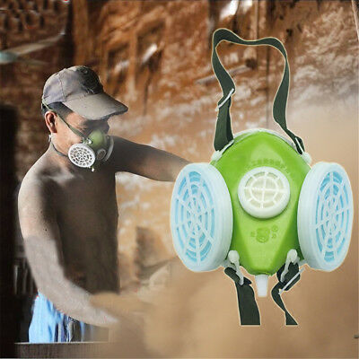Anti-Dust Chemical Painting Spraying Gas Face Respirator Mask Filter Cartridge