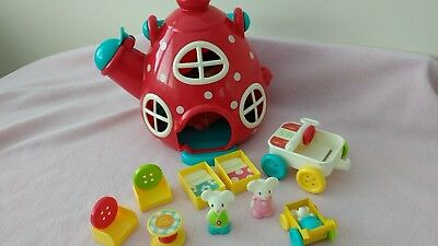 Early Learning Centre ELC Happyland mouse teapot house playset!