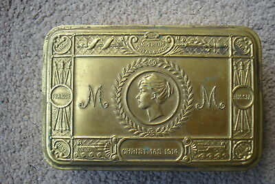 Christmas 1914 Princess Mary Tin