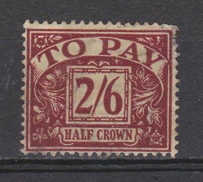 Great Britain postage due SG D 18 used 1924 (Michel nr 17) MUCH MORE DUE STAMPS