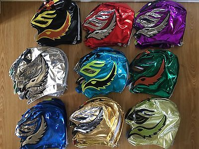 Rey Mysterio Jnr kids wrestling Mask WWE Wrestler Superstars Authentic replica
