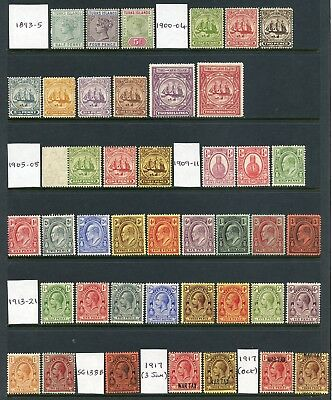 Turks and Caicos Islands 1893-1960 WONDERFUL mint collection cat. £998+
