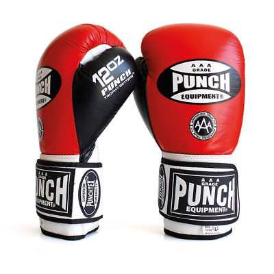 NEW Punch Boxing Gloves TROPHY GETTERS 10oz 12oz 16oz All Colours Sparring Glove