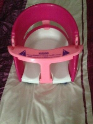 Pink Bath Seat For Baby