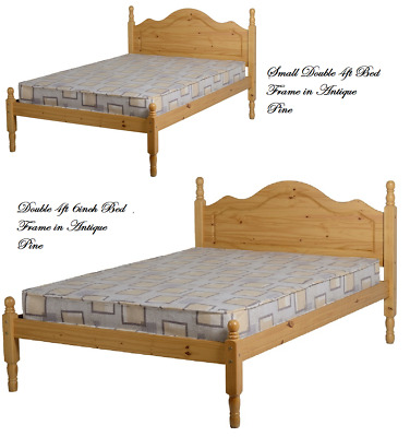 Sol Low Foot End Bed Frames in Antique Pine Single 3ft, 4ft & Double 4ft 6Inch