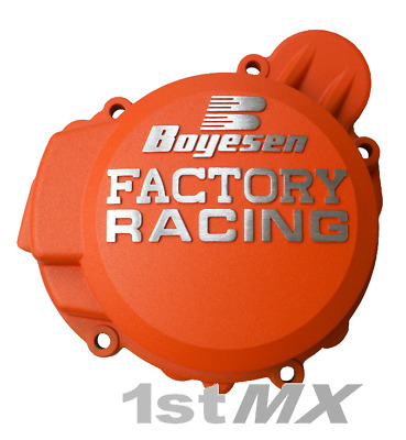 Boyesen Factory Racing Ignition Cover Motocross Orange KTM 125 144 150 SX 2009