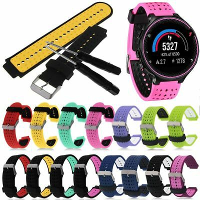 Sport Silicone Watch Band Strap For Garmin Forerunner 220 230 235 620 630