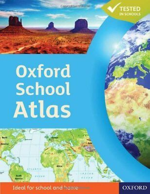 Oxford School Atlas by Patrick Wiegand New Paperback Book