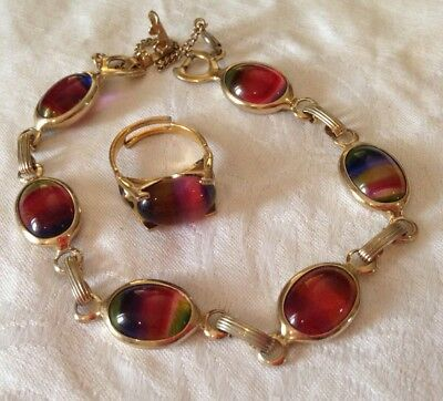 Sarah Coventry Bracelet And Ring