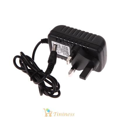 AC 100-240V Converter Adapter DC 5.5 x 2.5MM 12V 1A 1000mA Charger UK Plug