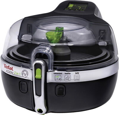 Tefal Fritteuse Actifry Schwarz/Silber YV9601, 1.400 Watt