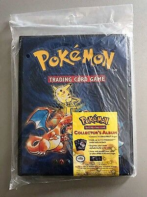 BASE SET Pokemon Folder Collector's Album / Binder 1999 Charizard Blastoise (NEW