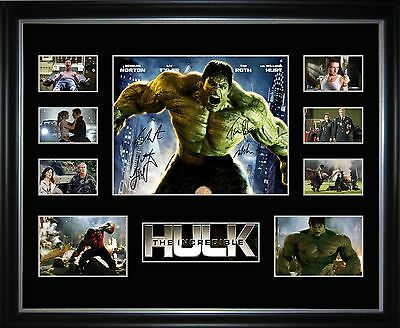 The Incredible Hulk Limited Edition Framed Memorabilia