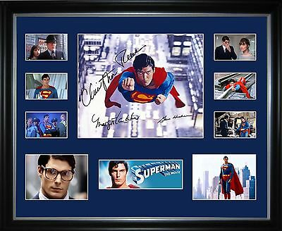 Superman 1 Limited Edition Framed Memorabilia