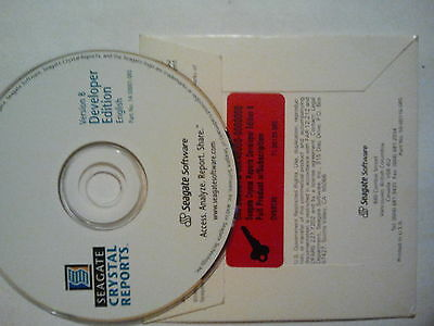 Seagate CRYSTAL Reports Developer 8.0 + analysis Professional 8.0 MwSt Rechnung