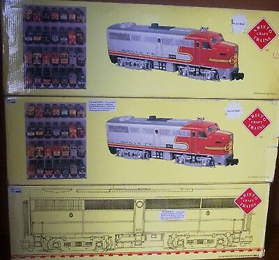 Aristocraft G Gauge 3 loco Alco FA1-FB1-FA1 Santa-Fe all Mint un-used boxed