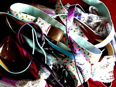 Bundle Of Young Girls Assortment Of Belts
