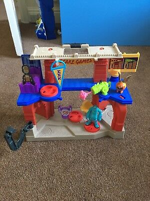 Fisher Price Imaginext Monsters University Scare Games Playset & Accessories