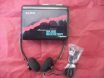 Alba CP40 Personal Stereo Walkman tape cassette player Funky Limited Edition