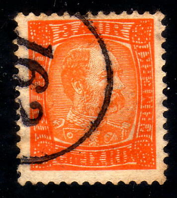 Iceland numeral canc. 162 on fac. 63 rare !!!