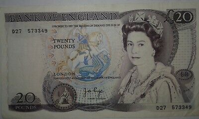 UK Great Britain Banknotes, England 20 Pounds, Shakespeare