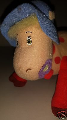 """Ermintrude Cow from The Magic Roundabout 10"""" Beanie Plush Soft Toy"""