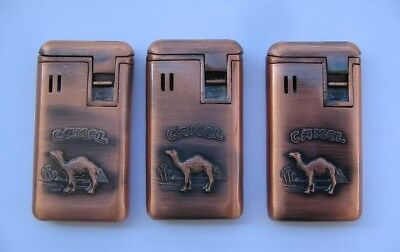 Old ( 3 )  Camel  Lighter preowned but never used