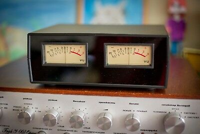 ANALOG VU METER WITH ENCLOSURE 245x175x90 mm