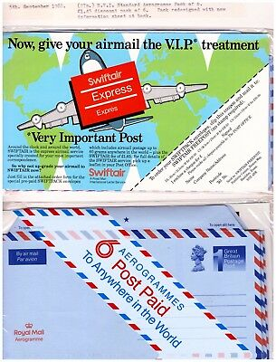 GB 1988 Airmail - Aerogramme Postal Stationery Pack Of 6. Unopened.  #262