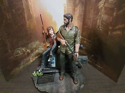 "The Last of Us Joel and Ellie 12"" Statue Limited Edition 