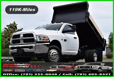 2011 Dodge Ram 3500 HD Dump Truck 4x4 6.7L Cummins Diesel Regular Cab Used Work