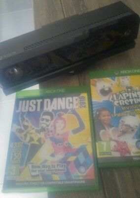 kinect xbox one et 2 jeux