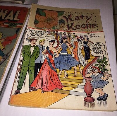 Katy Keene's Pin-up Parade Issue 2 Good Girl Art Paper Dolls Space Page Romance
