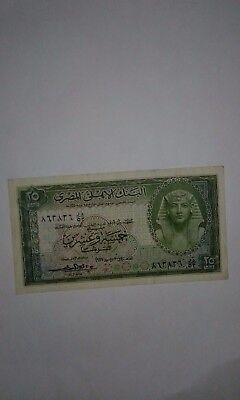 EGYPT 25 Piasters 1957, EF! See Images.