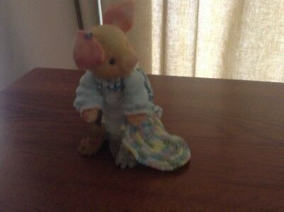 "EnescoThis Little Piggy ""Su-eeeeping Beauty"" Figurine  296123"