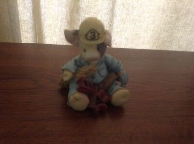 "1995 ENESCO TLP  ""What a Handy Hog"" Handyman Figurine This Little Piggy"