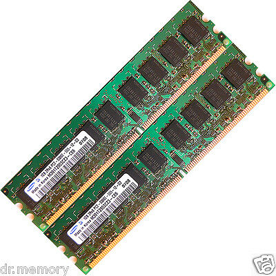 2GB(2x1GB) DDR2-533 PC2 4200 Memory RAM Upgrade NEC Express Series Server