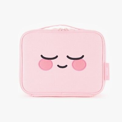KAKAO FRIENDS Official Goods APEACH POUCH Large Size Pink Square Character