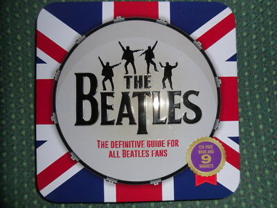 The Beatles - The definitive Collection- 128 page book + nine Beatles magnets