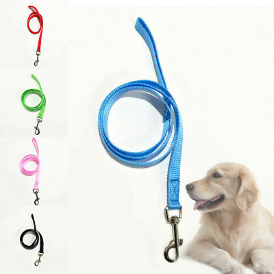 Strong Cat Dog Pet Leash Traction Rope Harness Lead Walking Adjustable With Clip