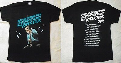 SPRINGSTEEN BRUCE 2016 'The River Tour' Beautiful Super Live T-SHIRT MINT