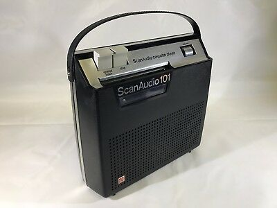 Vintage National RQ-240S Scan Audio 101 Mono Cassette Player Made In Japan