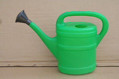 Wholesale stock job lot 5 Litre Capacity Plastic Watering Can with Rose x9